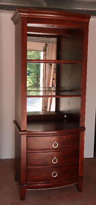 Beautiful Red Cherry Stained Armoire - Kitchen/livingroom/bedrm West Island Greater Montréal image 1