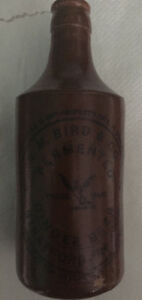 ginger beer bottle - R.m. Bird & co