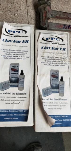 Clay bar kit   Auto Body parts   Gumtree Australia Outer