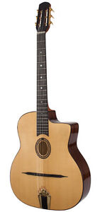 Gypsy Jazz Guitars with Case & Free Shipping.