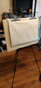 floor easel and drawing board