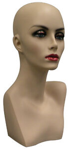 female head/ mannequin head