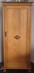 Antique, real oak stereo cabinet