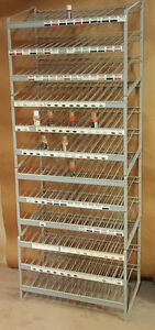 Retail Display Rack, 4 Tier, Wire