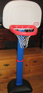 "TODDLER KIDS BASKET BALL HOOP MADE BY "" LITTLE TIKES """