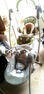Graco Swing, bouncy chair & other baby stuff-all for $40
