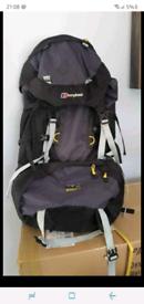 Berghaus 65+10 bio rucksack / holdall / camping