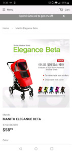 Manito Elegance Stroller Covers