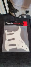 Official Fender Stratocaster white pickguard