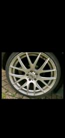 """19"""" 5x112 Genuine AVA avantgarde phoenix golf polo gti alloy wheels VW"""