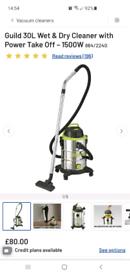 Guild 30L Wet and Dry Vacuum