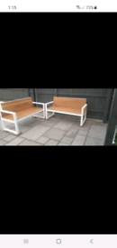 Bench HANDMADE. BRAND NEW £80 for both benches