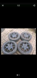 "18"" 5x112 Original Mercedes benz Brabus monoblock V 5 alloy wheels amg"