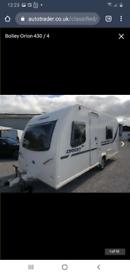 Bailey 2012 4 berth caravan 430/4-fixed bed