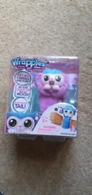 Shora wrapples furry best friend slap band