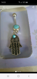New hamsa belly bar