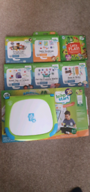 # Leapfrog Leap Start 3D With 6 Books & Original Box - Great Condition
