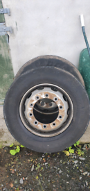 Dunlop 315.70.22.5 steer tyres and 1 drive on 10stud rims