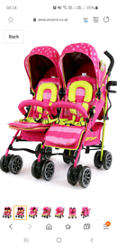Double buggy never used