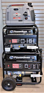 Generator & Pump Clearance Sale! Generators Starting @ $575!