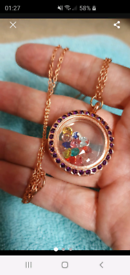 Stunning locket necklace