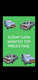 SCRAP CARS WANTED TOP PRICES PAID