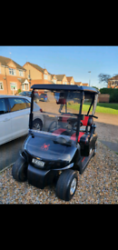 EZGO RXV ELECTRIC GOLF BUGGY FULLY REFURBISHED 2017
