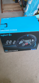 Logitech G29 wheel, pedals with Truebrake conversion and shifter