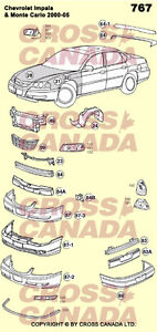 Monte Carlo - Brand New Replacement Body Panels London Ontario image 1