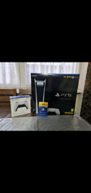 PS5 Digital Edition Brand New With Extra Controller + PS Plus 12 Month