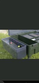 Fishing Nash tt station, rig testing tank