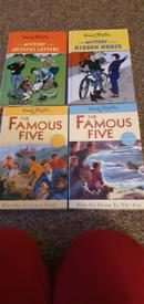 Collection Enid Blyton Children's books.
