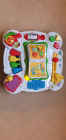 Leapfrog musical table English/French