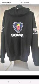 New Never Worn Scania Hoodie Jacket