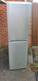 Silver fridge freezer _ free delivery