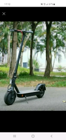 Eco flying electric scooter