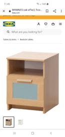 Two Ikea Bedside Table / Cabinet