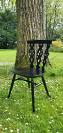 1 x Ercol Fleur de lys Dining Chair