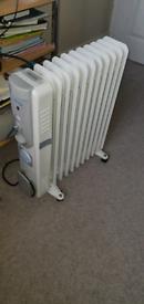 2500W Oil Filled Heater