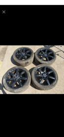 """17"""" 5x112 Original Mercedes benz AMG style alloy wheels W204 W203"""