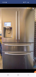 800 Litre Samsung French Door Refrigerator with Twin Cooling, Wat