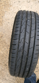 Tyres off scrapped wheels