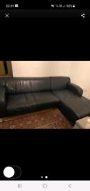 Leather Sofa 4 Seater