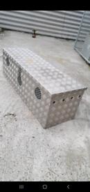 3 compartment dog box