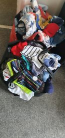 Baby boy clothes from tiny baby to 3-6