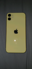 iPhone 11 - 64gb - Yellow - Mint Condition