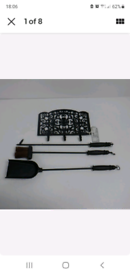 Cast Iron Fire Place Tools