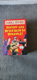 Horrible histories book collection