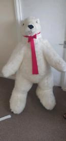 4 and a 1/2 foot polar bear teddy rrp £350