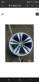 BMW GT wheel for 5 series 20""